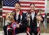 2010, Angie & Janelle with their dogs and medals (photo courtesy of Karen Moureaux)