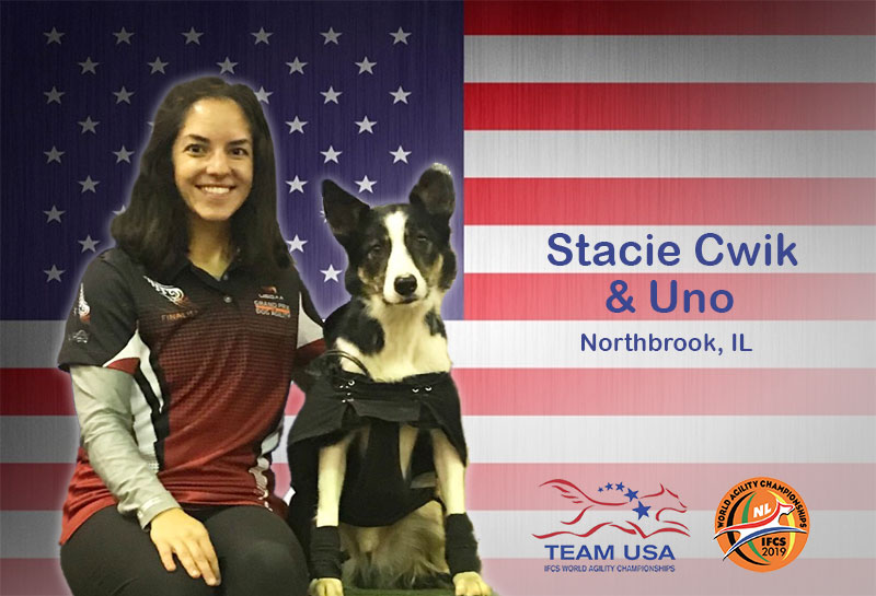 Meet the Team: Stacie Cwik and Uno