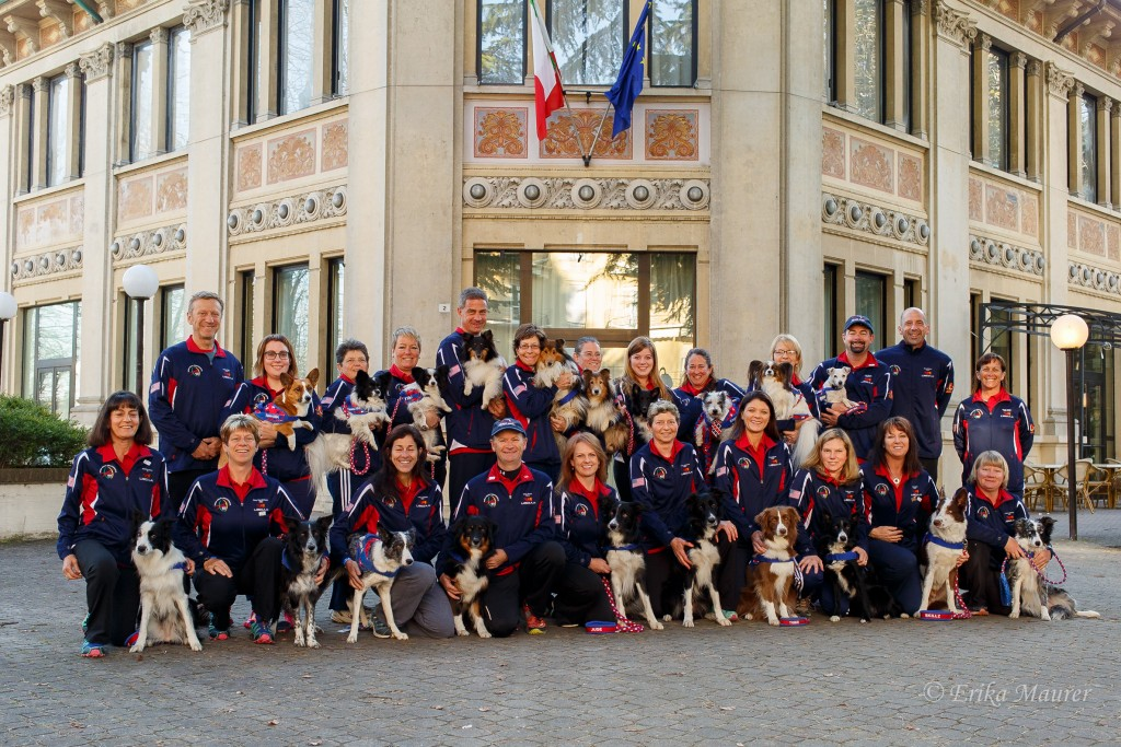 2015 Team USA in Voghera, Italy
