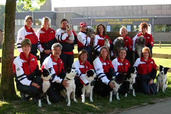 The 2008 Team in Belgium (photo courtesy of JP Evans)