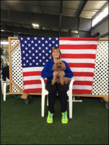 Diane O'Reilly and Rauri Belle, 2017 World Team